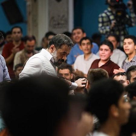نوحه ای بابا حکایتی شده مویم از محمود کریمی