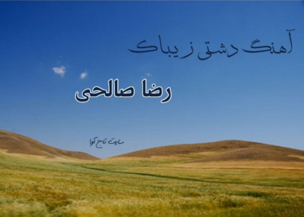 آهنگ دشتی از رضا صالحی