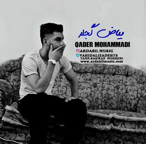 آهنگ بیاض گجلر از قادر محمدی